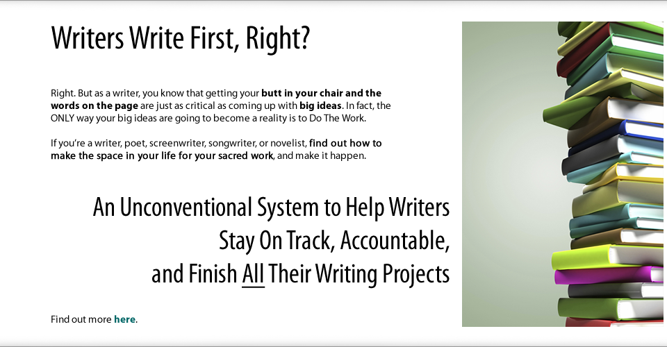 Writers Write First, Right?