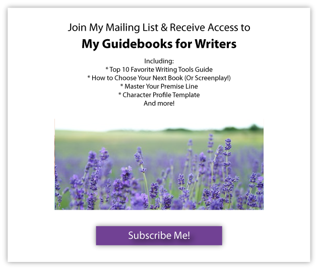 Join My Mailing List & Receive Access to My Guidebooks for Writers